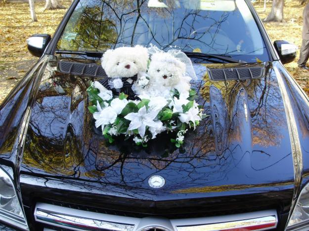 свадебные украшения на машину фото | Фотоархив
